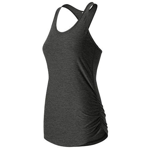 Women's New Balance The Perfect Shirred Racerback Workout Tank