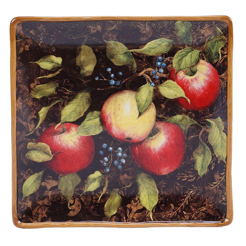 Certified International Capri 12.5-in. Square Serving Platter