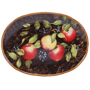 Certified International Capri 15.5-in. Oval Serving Platter