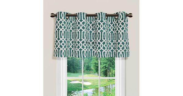 Spencer Home Decor Iron Lattice Valance 54 X 16 - spencer home decor curtains