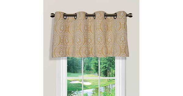 Spencer Home Decor Sphinx Valance 54 X 16 - spencer home decor curtains