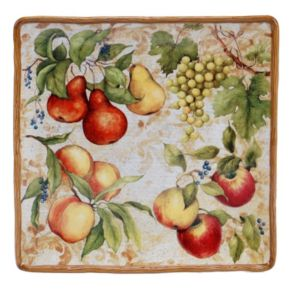 Certified International Capri 14.25-in. Square Serving Platter