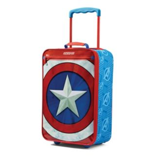 Marvel Captain America Shield Wheeled Luggage by American Tourister