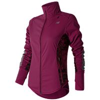 Women's New Balance Windblocker Fleece-Lined Running Jacket