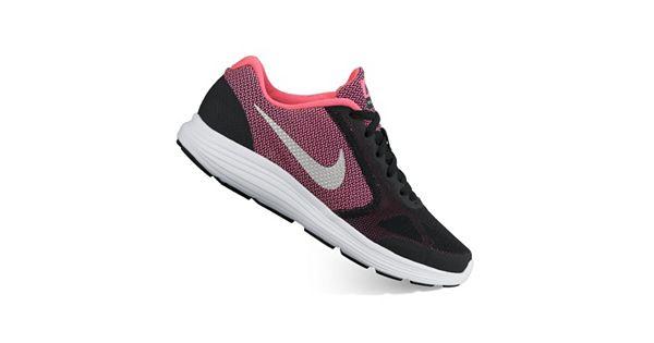 Nike Revolution 3 Grade School Girls Running Shoes