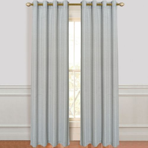 Dainty Home 2-pack Antique Silk Curtains - 55'' x 84''