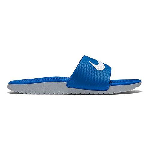 brand new 20f47 f5b0d Nike Kawa Kid s Slide Sandals