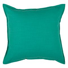 Rizzy Home Self Flange Throw Pillow
