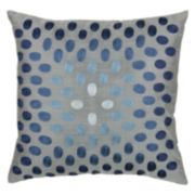 Rizzy Home Shimmer Dot Throw Pillow