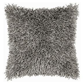 Rizzy Home Modern Shag Throw Pillow