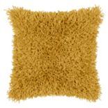 Rizzy Home Modern Shag Throw Pillow