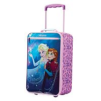 Disney / Pixar Frozen Anna & Elsa 18-Inch Kids Wheeled Carry-On by American Tourister