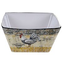 Certified International Vintage Rooster 10.25-in. Deep Serving Bowl