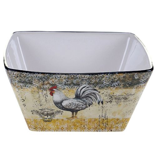 Certified International Vintage Rooster 10.25-in. Deep Serving Bowl