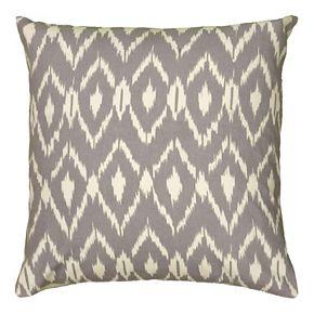 Rizzy Home Geometric Ikat Throw Pillow