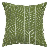 Rizzy Home Stripe Geometric Throw Pillow