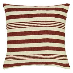 Rizzy Home Multi-Stripe Throw Pillow