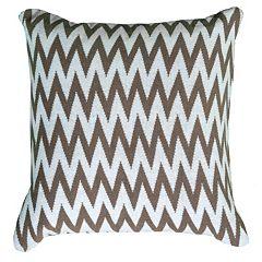 Rizzy Home Chevron Throw Pillow
