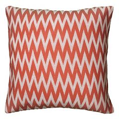 Rizzy Home Chevron Throw Pillow