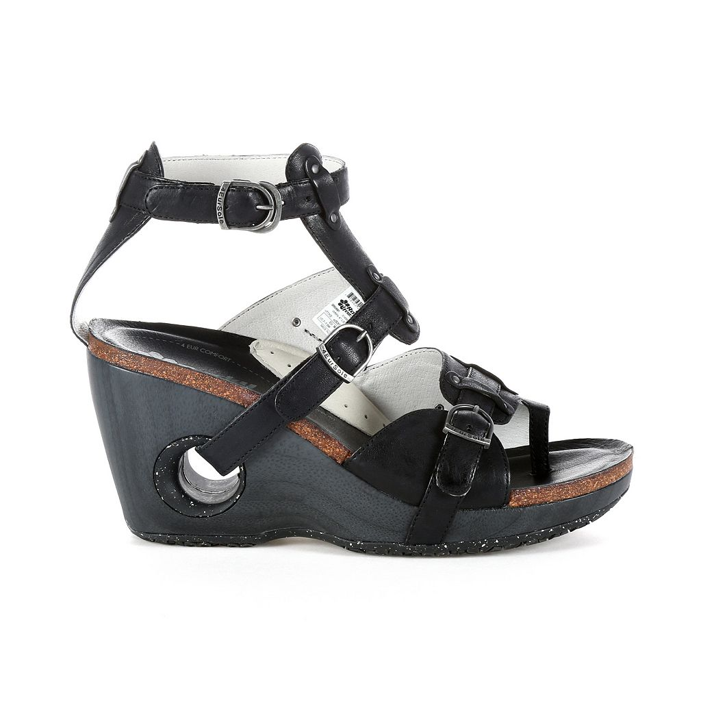 Rocky 4EurSole Set Free Women's Toe-Ring Wedge Sandals