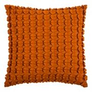Rizzy Home Felt Geometric Throw Pillow