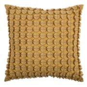 Rizzy Home Felt Geometric Throw Pillow
