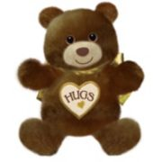First & Main 15-Inch Brown Hugsie Bear