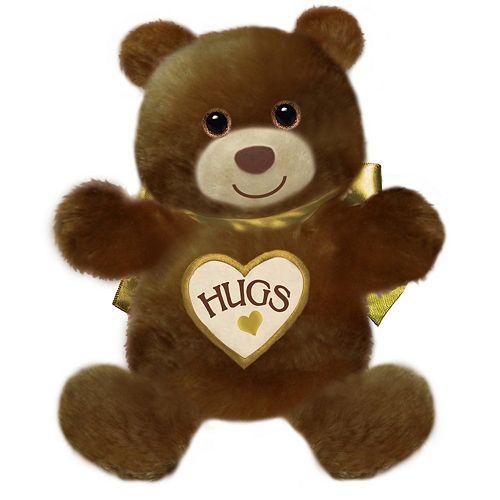 First & Main 15-Inch Brown Hugsie Bear