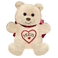 First & Main 15-Inch Light Brown Hugsie Bear