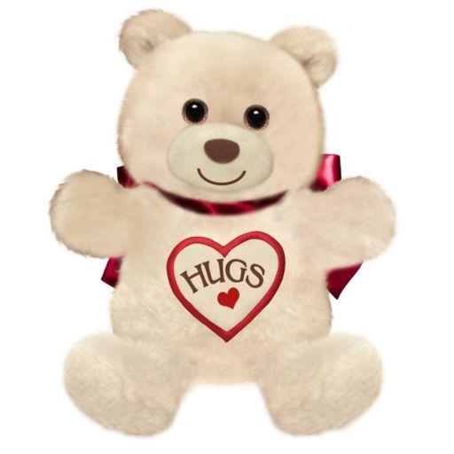 First & Main 15-Inch Light Brown Hugsie Bear