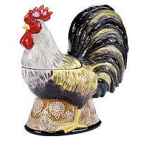 Certified International Vintage Rooster 10.75-in. Cookie Jar