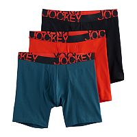 Men's Jockey 3-pack Active Stretch Midway Briefs