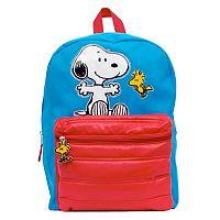 Kids Peanuts Snoopy & Woodstock Backpack