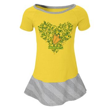 Girls 4-6x Oregon Ducks Fancie Dress