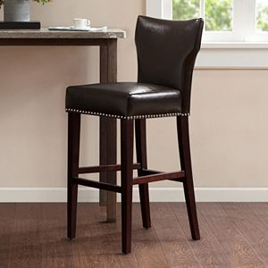 Incredible Morgan Nailhead Bar Stool Ibusinesslaw Wood Chair Design Ideas Ibusinesslaworg