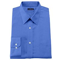 Men's Croft & Barrow® Slim-fit Solid No Iron Point Collar Dress Shirt