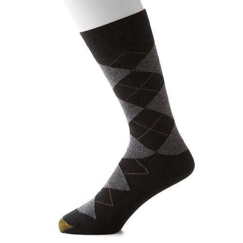 Men's GOLDTOE Bohemian Plaid Dress Socks