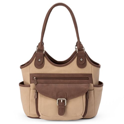 MultiSac Two-tone Shoulder Bag