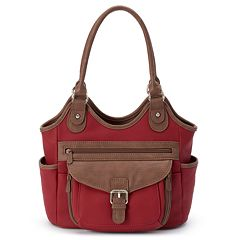 MultiSac Two-tone Shoulder Bag