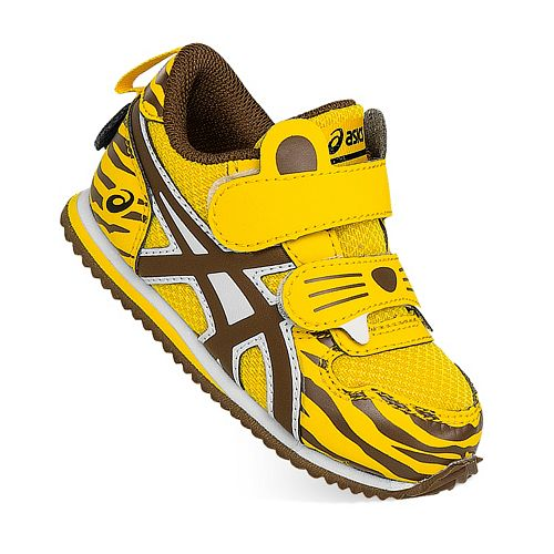 ASICS School Yard Zoo Tiger Toddlers' Running Shoes