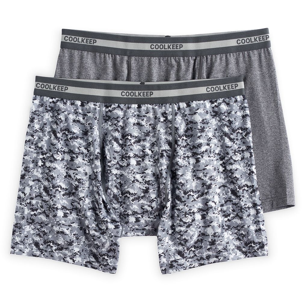 Men's CoolKeep 2-pack Boxer Briefs