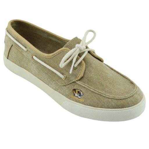 Men's Missouri Tigers Captain Boat Shoes