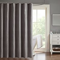 Madison Park Hayden Chevron Jacquard Shower Curtain