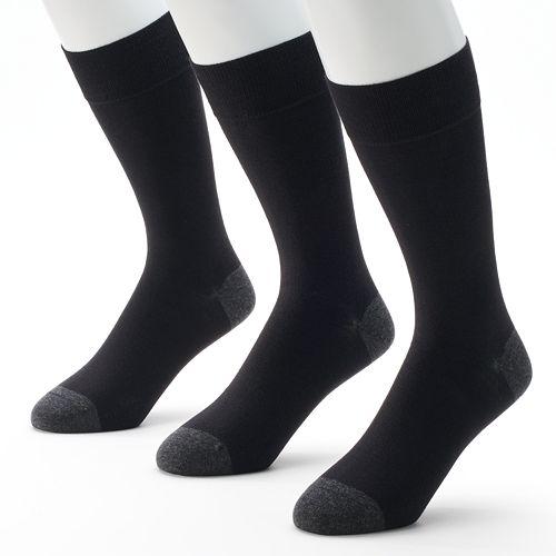 Men's Marc Anthony 3-pk. Solid Dress Socks