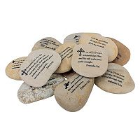 Stonebriar Collection Scripture Rock Decor 12-piece Set