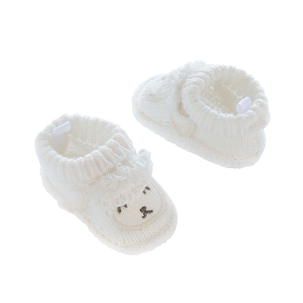 Baby Carter's Sheep Knit Slippers