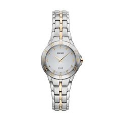 Seiko Women's Recraft Stainless Steel Solar Watch