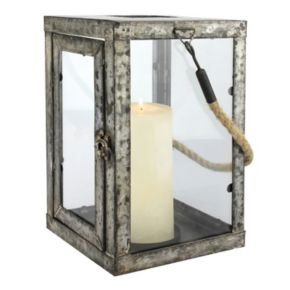 Stonebriar Collection Large Newport Candle Lantern