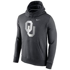 Men's Nike Oklahoma Sooners Hybrid Fleece Hoodie