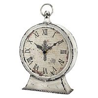 Stonebriar Collection Faith Round Table Clock